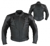 Streetz Dominator Black Leather Jacket