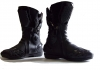 Streetz Grand Racing Boot - Black Motorcycle Boots